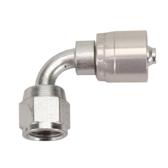 Aeroquip FBM4131 Starlite Crimp Fitting, 90 Degree, -4 AN