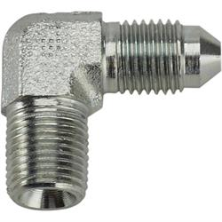90 Degree -3 AN to 1/8 NPT Steel Adapter Fitting
