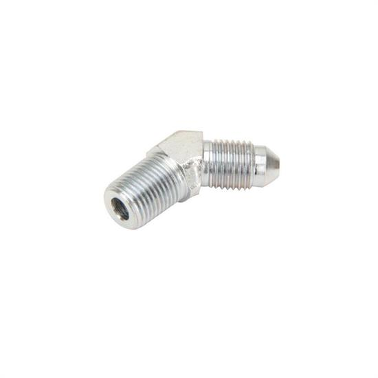 Steel 45 Degree -3 AN to 1/8 NPT Male Adapter Fitting
