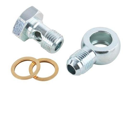 14mm to Male AN6 Banjo Bolt Fitting for Power Steering Pump