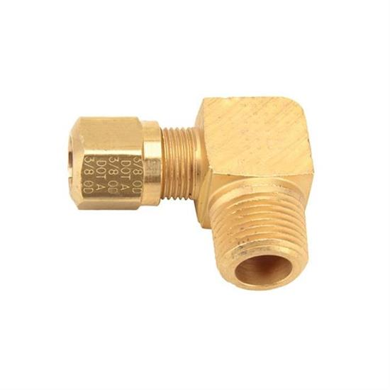 Air Suspension Tubing Male Connector Fitting, 90 Degree
