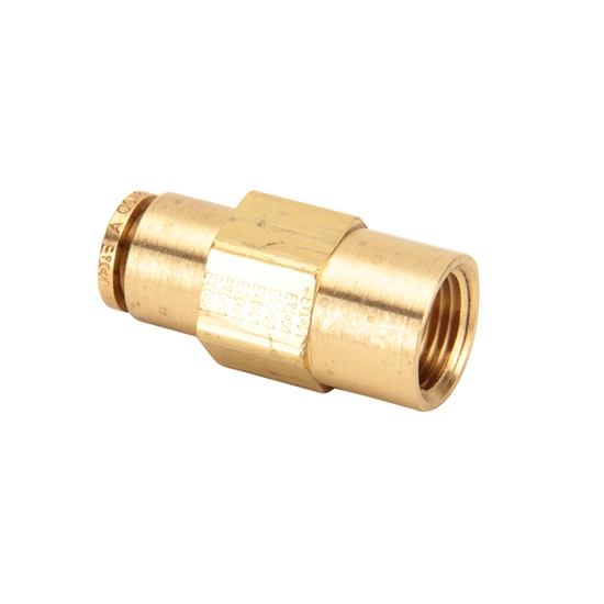 Air Suspension Tubing Straight Connector Fitting, 3/8 - 3/8 NPT