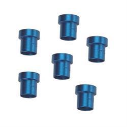 Aluminum Tube Nut Sleeve, -4 AN 1/4 Inch
