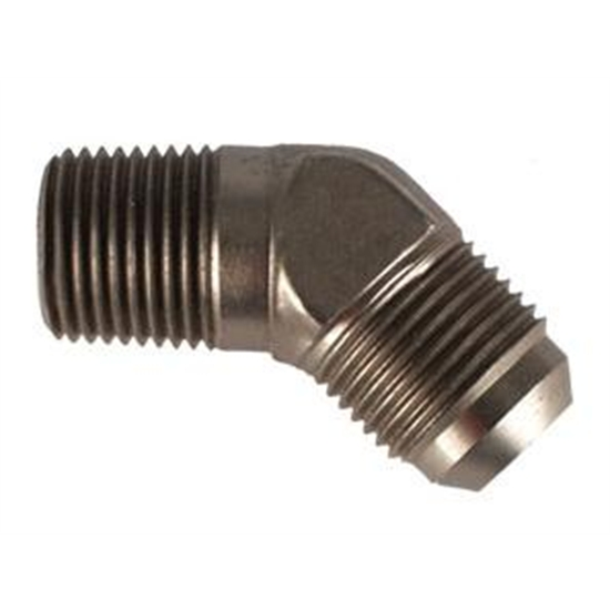 Aeroquip FCE2024 45  -10 AN Flare to 1/2 In NPT Pipe Adapter Fitting