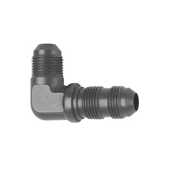 Fragola 483306-BL AN Flare Bulkhead Fitting, -6 AN, 90 Degree