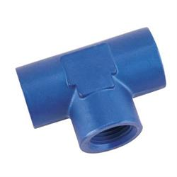 Aluminum Female Pipe Tee, 1/8 Inch