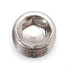 Russell Performance 662061 Endura Finish Aluminum Pipe Plug-1/2 In NPT