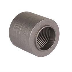 Threaded Steel Weld Bung Fitting, 1/2 Inch NPT Female