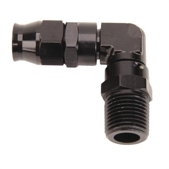 Fragola 6899881-BL 90 Deg. Real Street PTFE Hose End Fitting, -8 AN