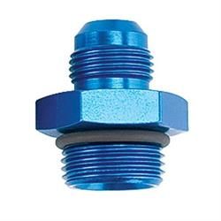 Straight High-Flow O-Ring -6 AN Hose to -8 AN Port Fitting