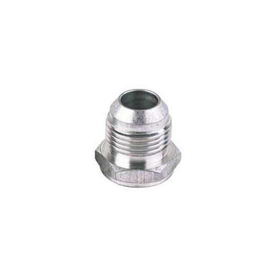 Male Aluminum 37 Degree AN Flare Weld Bung Fitting, -10 AN