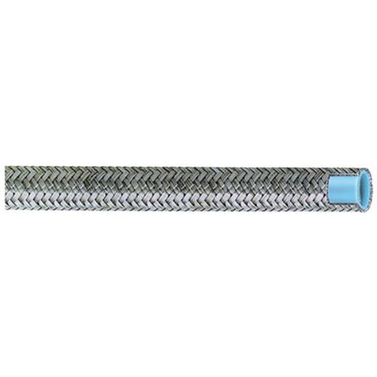 Aeroquip FCF0806 Stainless Steel Braided AC Hose, -8 AN, 6 Ft. Length