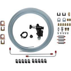 Speedway Universal Brake System Builder Kit, Lines/Fittings/Valve