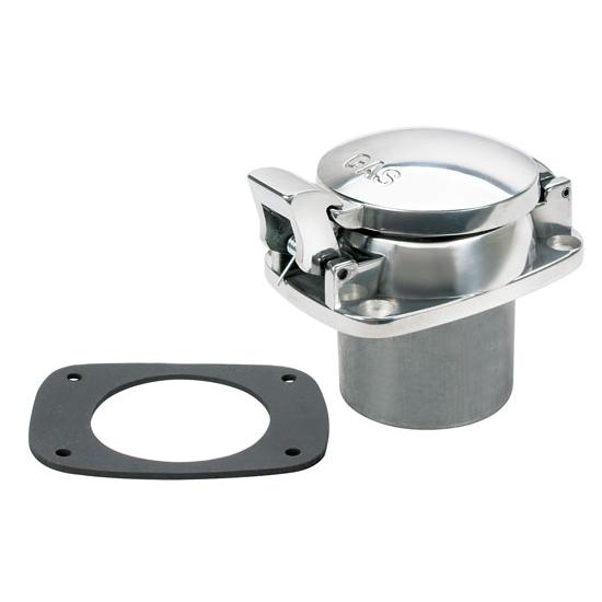 Universal Aluminium Oil Tank Filler Cap Silver