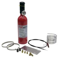 Fire Bottle RC-250 Sprint Car Fire Suppression System, 2.5 Lbs.