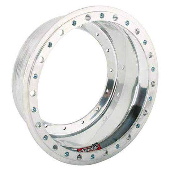 Sander Engineering 1-07L 15 x 7 Inch Wheel Outer Half with Beadlock