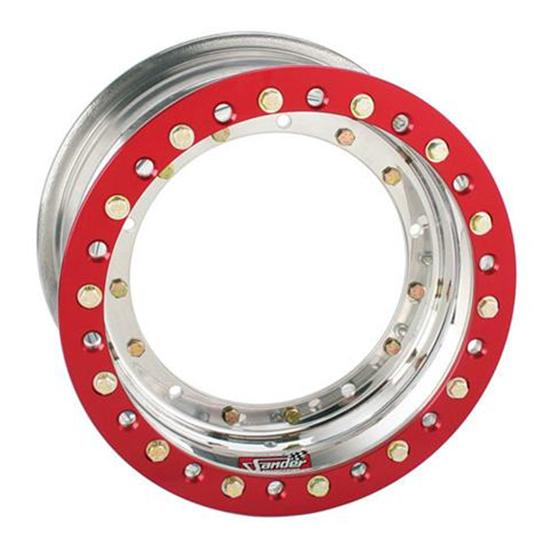 Sander 13-083-DO1 Direct Mount Wheel, 13x8, 3 Offs, Outer Beadlock