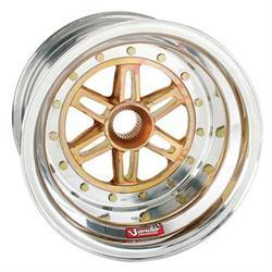 Sander 13-083-SN 31 Spline 13x8 Wheel, 3 Offset, Non Beadlock