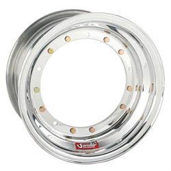 Sander 13-084-DN Direct Mount Front Wheel, 13x8, 4 Offs, No Lock/Cover