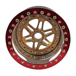 Sander Engineering 13-084-SI1 13x8 Wheel, 4 Inch Backspace