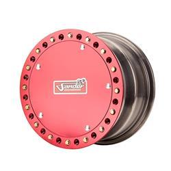 Sander 15-095-D02 Direct Mount Wheel, 15x9, 5 Offs, Beadlock/Cover