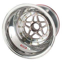 Sander 15-154-SI1 Splined LR Wheel, Inner Beadlock, 15x15, 4 Offset