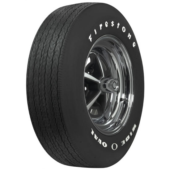 Coker Tire 62450 Firestone Wide Oval Tire, RWL, F70-15