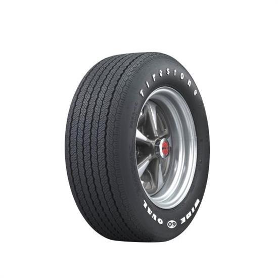 Coker Tire Firestone Wide Oval Tire RWL FR - Coker tire car show