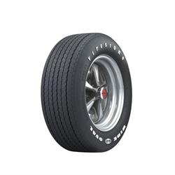 Coker Tire 62510 Firestone Wide Oval Tire, RWL, FR60-15