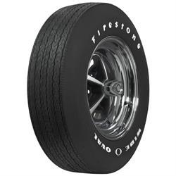 Coker Tire 62650 Firestone Wide Oval Tire, RWL, G70-15