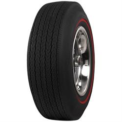 Coker Tire 62670 Firestone Wide Oval Redline Tire, G70-15