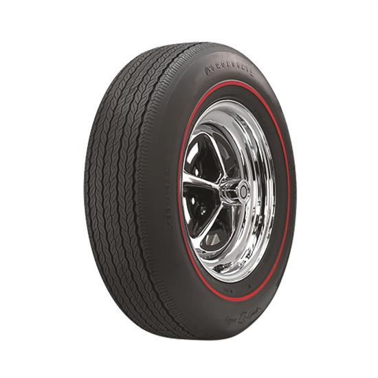 Coker Tire 62690 Firestone Wide Oval Redline Tire, GR70-15
