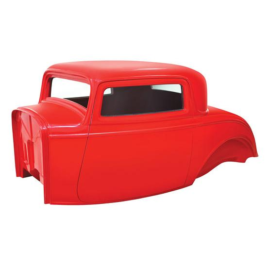 Rod Action 1932 Ford 3-Window Coupe Fiberglass Body
