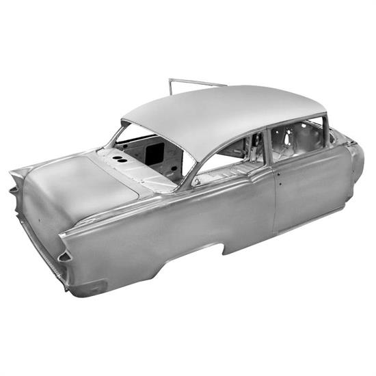 Real Deal Steel C55SD-13 1955 Chevy 2 Dr Sedan Body With Dash