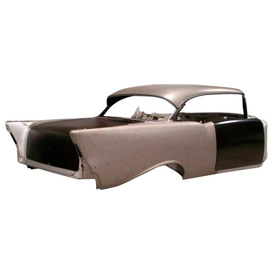 Real Deal Steel C57HD-13 1957 Chevy 2 Door Hardtop Body With Dash