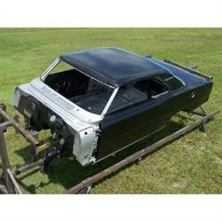 Real Deal Steel N67C-1SQT 1966-67 Chevy II Body Shell Mini Tubbed