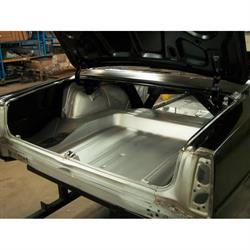 Real Deal Steel N67C-1QT 1966-67 Chevy II Body Shell, Mini Tubbed