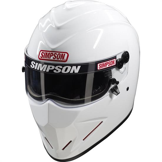 The classic Simpson M50 Helmet is back. This 21st century retro remake has been updated with a modern DOT safety certification and plush, washable liner. With the M50 in your gear closet you can ride in style without sacrificing comfort or safety.