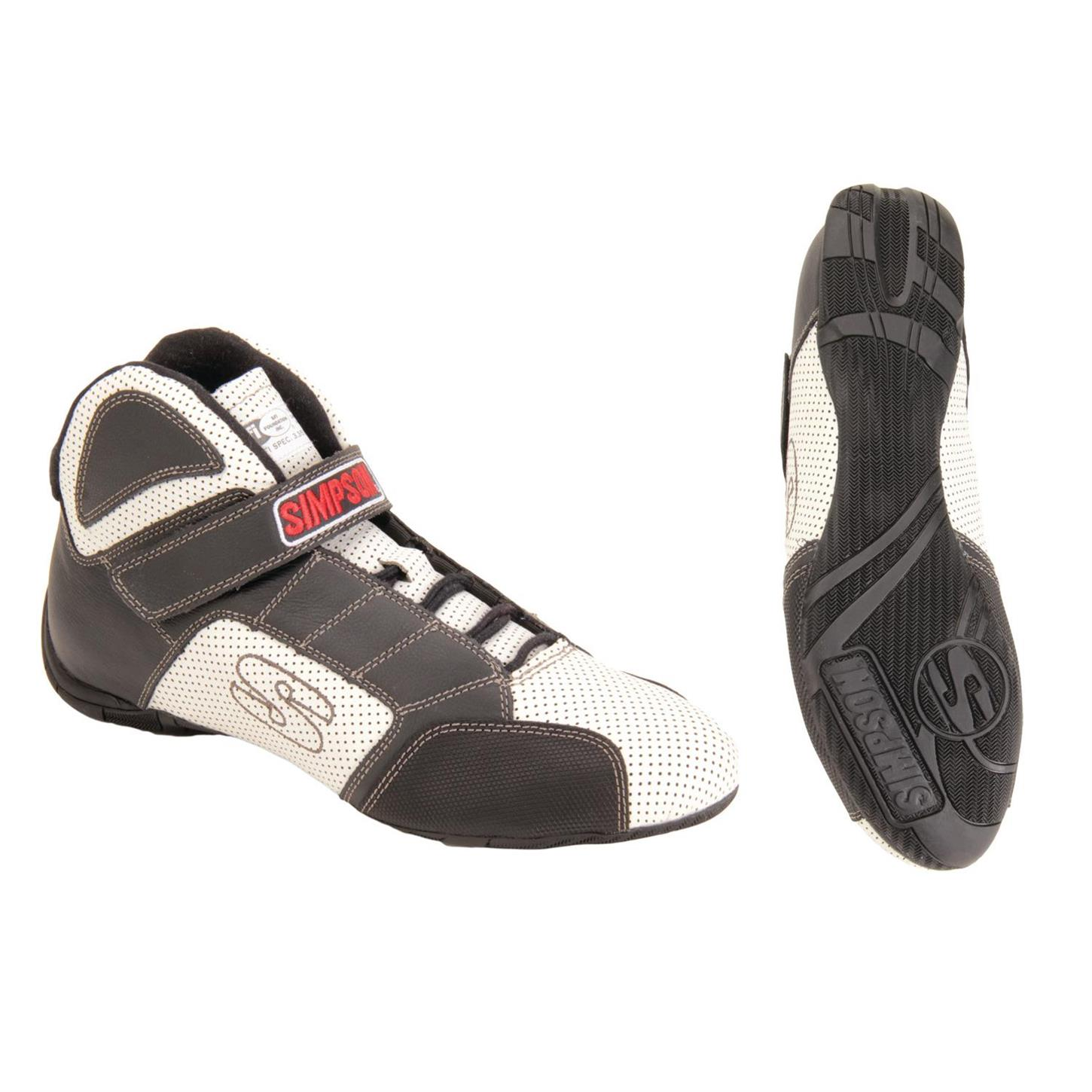 Simpson Racing Shoes Red Line SFI 3 3 5 Rated