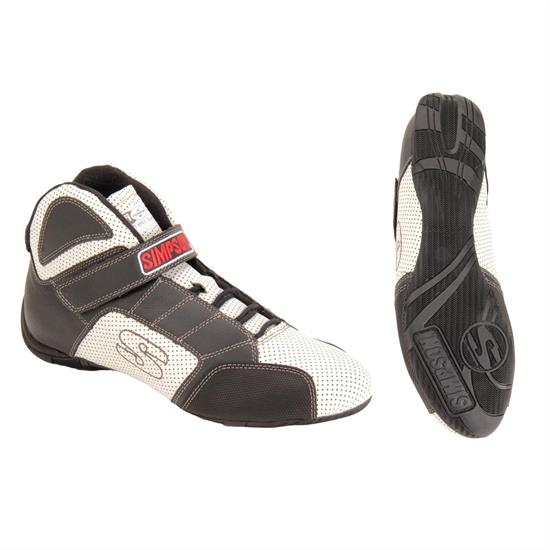 Simpson Racing Shoes >> Simpson Red Line Racing Shoes Sfi 3 3 5