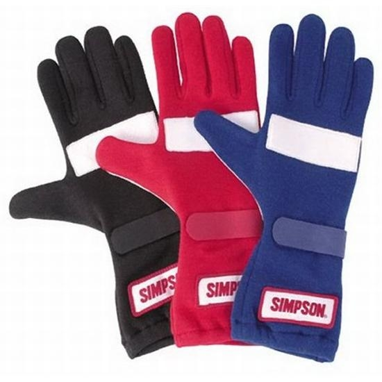 Garage Sale - Simpson Posi-Grip Gloves, Small, White