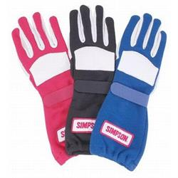 Simpson Red Talon Grip Gloves, Small