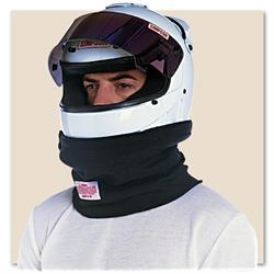 Simpson 23012BK Knit Nomex Helmet Skirt, Black