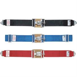 Simpson Wrap-Around Lap Belts, Latch and Link, Pull-Up