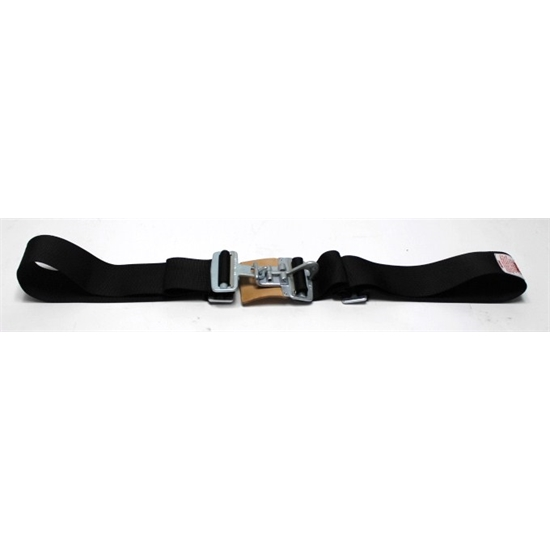 Garage Sale - Simpson 29032BK.GS Latch F/X System Lap Belt, Black