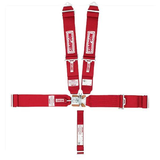 simpson 5 point harness latch link sprint seat belt short sew pattern. Black Bedroom Furniture Sets. Home Design Ideas
