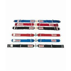 Simpson Wrap-Around Lap Belt, Cam Lock, Pull Up