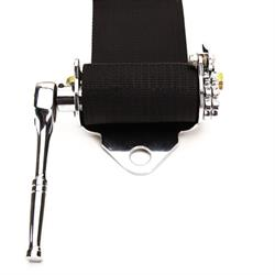Simpson 51201 Latch n Link Safety Belt w/Steel Adjusters, RH Ratchet