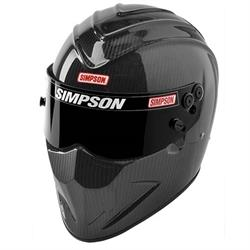 Simpson Diamondback Carbon Fiber SA2015 Racing Helmet
