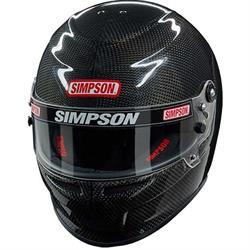 Simpson Venator Carbon Fiber SA2015 Racing Helmet
